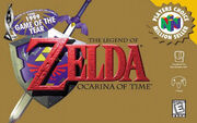 The Legend of Zelda - Ocarina of Time - Portada.jpg