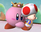 Super Smash Bros Brawl - Kirby Peach