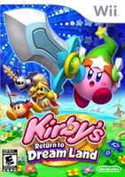 Kirby's Return to Dream Land portada USA