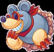 Kirby Mass Attack arte - Talpator