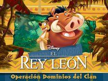 El Rey León Operación Dominios del Clan titulo.jpg