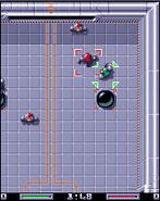Speedball captura J2ME