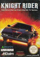 Knight Rider NES portada COR