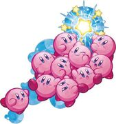 Kirby Mass Attack Corazon de Kirby