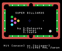 Super Billiards TÍTULO