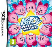 Kirby Mass Attack portada EUR