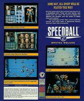 Speedball 2 contraportada Atari ST