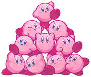 Kirby Mass Attack Kirby