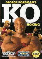 George Foreman's KO Boxing Genesis portada