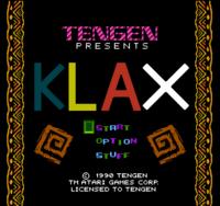 Klax NES captura1