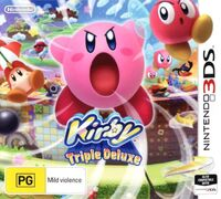 Kirby Triple Deluxe - Cover AUS