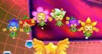 Kirby Triple Deluxe - Habitantes de los cielos