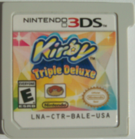 Kirby Triple Deluxe - Card USA