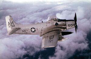 A-1H VA-152 USS Oriskany 1966.jpg