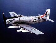 A-1J Skyraider VA-176 Vietnam 1966