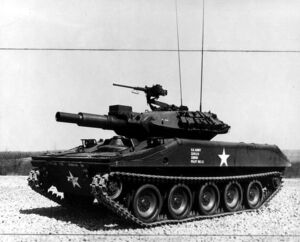 M551 Sheridan Tank Presentation
