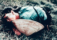 Dead woman from the My Lai massacre