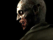 A zombie from the remake of the first Resident Evil game