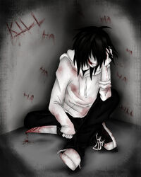 Jeff the killer insanity by ren ryuki-d68vyu9