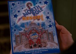 The North Pole Resort Leaflet