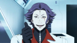 Guilty crown-09-segai-smile-thumbs up-creepy