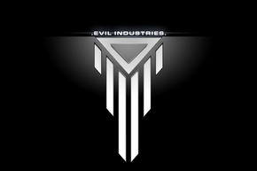 Logoclb 03 evil industries by calibaen