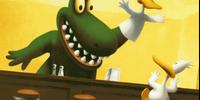 Duck Puppet Alligator