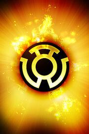 Yellow Lanterns Corpos Ring Symbol