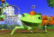Villain frog