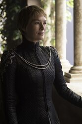 CERSEI LANNISTER IN BLACK