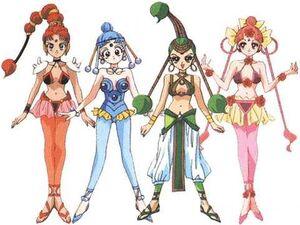 The Amazoness Quartet