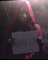 Red Coat Emily Mask