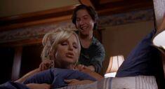 Mike massaging Samantha