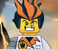 Dr. Inferno's Evil Grin