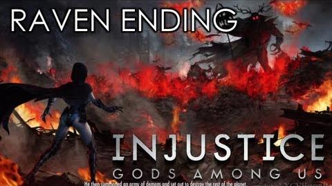 INJUSTICE GODS AMONG US - RAVEN ENDING (Xbox 360 PS3 Wii U HD)