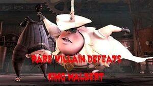 Rare Villain Defeats King Malbert