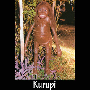 Museo mitologico ramon elias capiata kurupi escultura portalguarani