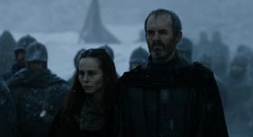 Stannis burning Shireen