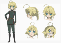 Tanya full anime sheet
