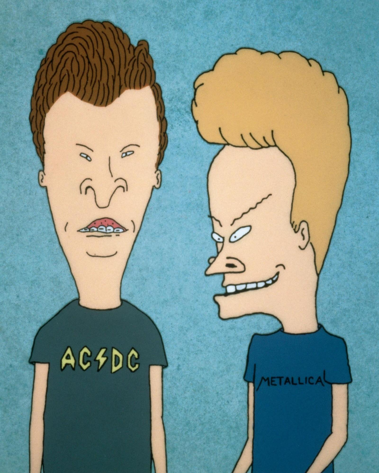 Beavis And Butthead College Game 91