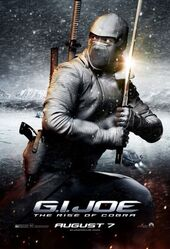 Storm shadow in rise of cobra poster