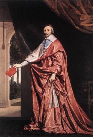 Cardinal Armand Jean du Plessis Richelieu