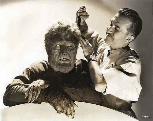 File:1944 ... the 'Wolfman' gets styled!.jpg