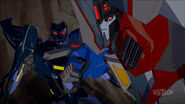 Starscream and Shadelock