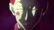Hisoka's creepy grin