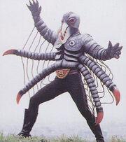Spider Kikkaijin BS Kaijin