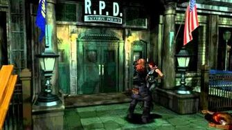 Resident Evil 3 Nemesis Boss Fight 1