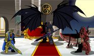 Drakath with King Alteon and Sepulchure