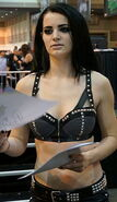 Paige at WWE Axxess 2014