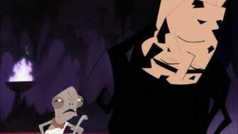 Samurai Jack overcomes evil